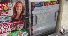 Florida shopper irate when he sees magazine with Trump covered-up, but Publix says there's a reason…