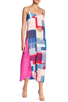 Print Silk Midi Dress by CHARLIE JADE on @nordstrom_rack