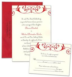 Gabriella Wedding Invitations by MyGatsby.com