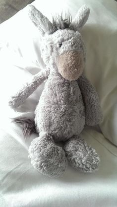 Found on 27/08/2014 @ france, st malo. near the train station. Saw a lovely young family playing with 'donkey' on the bus with us to le Mont st michel. On the way back we got off the bus and saw donkey had been dropped on the pavement. Had a look for them but ... Visit: https://whiteboomerang.com/lostteddy/msg/788cbt (Posted by jo on 27/08/2014)