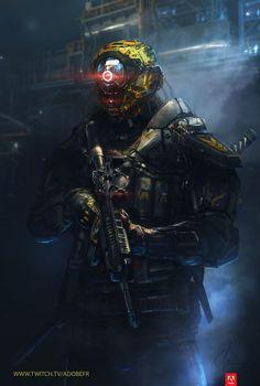 The Cyclops Guardian, Sebastien Hue on ArtStation at https://www.artstation.com/artwork/AvVqe