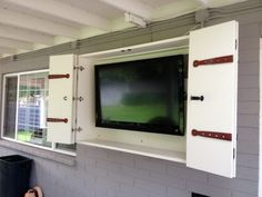 Outdoor TV Cabinets Protecting Your TV   Http://cabinetdoorknobs.net/outdoor
