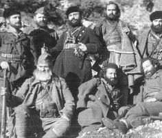 Andartiko, Greek resistance fighters (But it broke his heart as it broke the heart of every B.L.O. in Greece. ELAS set to work and smashed every other guerrilla organization it could get its filthy hands on.)