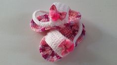 Sandalias para Bebé en crochet