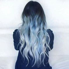 Blue and blonde