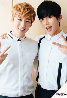 U-Kiss - Kevin and Kiseop