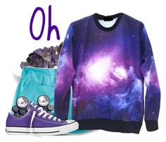 """""""Oh"""" by jen-the-glader ❤ liked on Polyvore featuring Bling Jewelry, Kavu, Jennifer Loiselle and Converse"""