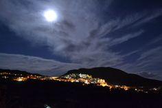Finestrat en luna llena | Flickr: Intercambio de fotos