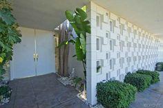 """BREEZE BLOCKS"" Encino Mid Century Modern Home"
