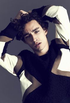 Robert Sheehan for ASOS Magazine, 2013 -Simon, are you wearing a fuzzy sweater?
