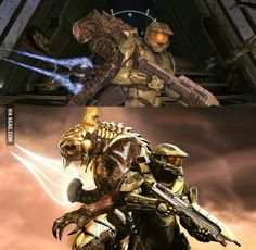Even I have to admit that Halo 5 left me wanting. Here's hoping Halo 6 fixes all of that and then some. Halo 3, Halo Game, Master Chief And Cortana, Halo Master Chief, Halo Reach, Godzilla, Odst Halo, Transformers, Halo Spartan