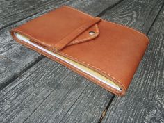 CSherwoodLeather Handmade Steno Pad Cover 6x9 by CSherwoodLeather