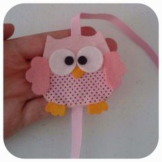 Owl Crafts, Clay Crafts, Diy And Crafts, Crafts For Kids, Arts And Crafts, Owl Sewing, Sewing Crafts, Sewing Projects, Valentine Day Crafts