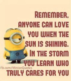 We hope that you all will like these funny minions quotes very much. You can use these funny minions love quotes to greet your best friends, bf or gf. Funny Picture Quotes, Cute Quotes, Great Quotes, Inspiring Quotes, Funny Quotes, Funny Humor, Humor Quotes, Hilarious Jokes, Wisdom Quotes