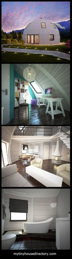 mytinyhousedirectory: Beautiful Round Home