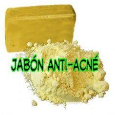 El acné afecta a muchas personas, sobretodo a determinadas edades, hoy os enseñaremos a combatirlo con este jabón anti acné.