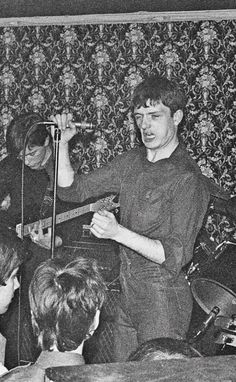 Joy Division at Bowdon Vale Youth Club, March 1979 Photographer Unknown. Joy Division, Ian Curtis, Music Icon, Pop Music, Kathleen Hanna, Tyler Blackburn, Jamie Campbell Bower, Idole, Alternative Music