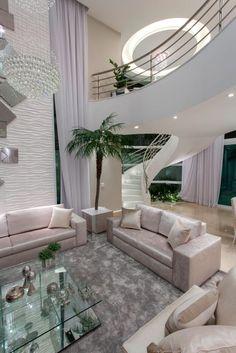 Navegue por fotos de Salas de estar modernas: Casa Buriti. Veja fotos com as melhores ideias e inspirações para criar uma casa perfeita.