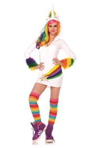 Cozy Unicorn Dress Adult Womens Costume - 322693 | trendyhalloween.com