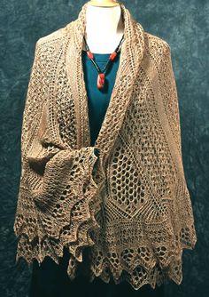 Windswept Shawl #Fiddlesticks Knitting