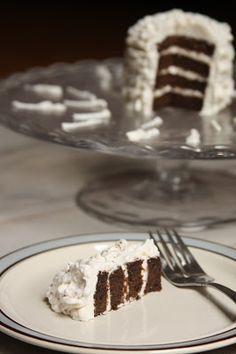 Single Serving Chocolate Birthday Cake (AIP, Paleo, Vegan)- cassava flour, coconut flour, carob powder, baking soda, applesauce, coconut milk, avocado oil, palm shortening, maple syrup