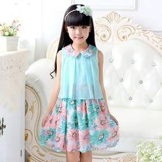 Resultado de imagen para vestidos informales para niñas