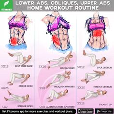Abs home workout