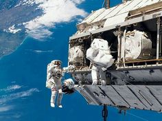 ISS NASA spacewalk 24.12.2013