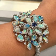 Obsessing over Opals this season, visit us at #MiaMoonJewellers in #Bahrain to see more of our high jewellery collection