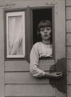 Young Girl in Circus Caravan, 1926
