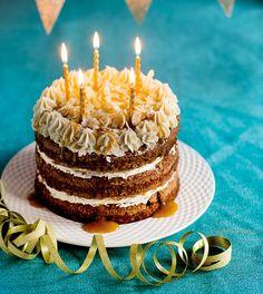 Banantårta+värd+en+femåring Birthday Candles, Baking, Bread Making, Bakken, Backen, Pastries