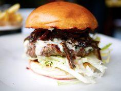 Big Blue Byron Burger - The Londoner