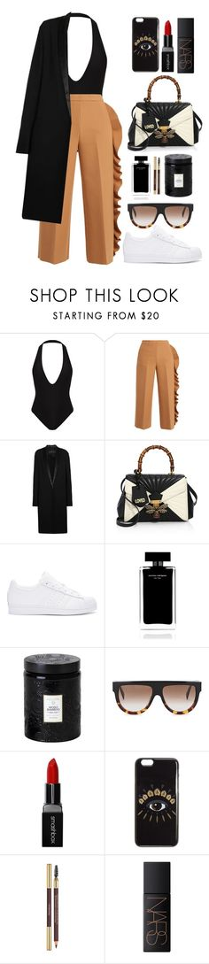 """Zoey Dollaz - Post & Delete ft. Chris Brown"" by tamaramanhardt ❤ liked on Polyvore featuring MSGM, Haider Ackermann, Gucci, adidas Originals, Narciso Rodriguez, Voluspa, CÉLINE, Smashbox, Kenzo and Yves Saint Laurent"