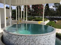 worth noting that some of these pool designs featured are from. Retreat into the wilderness with a stock tank pool nestled in the woods. Small Backyard Pools, Small Pools, Indoor Swimming Pools, Diy Swimming Pool, Swimming Pool Designs, Dipping Pool, Cheap Pool, Stock Tank Pool, Pool Builders
