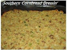 Homemade Southern Cornbread Dressing Recipe Soul Food Style