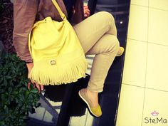 World Street, Daily Photo, Daily Inspiration, Street Styles, Outfit Of The Day, Yellow, Outfits, Fashion, Tall Clothing