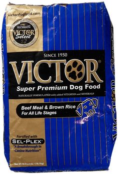 Victor Dog Food Select Beef Meal and Brown Rice ** Startling review available here  : Dog food types