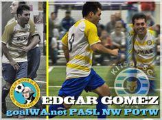 goalWA.net PASL NW Player of Week: Edgar Gomez, KitsapPumas