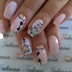 Pretty Nail Designs, Colorful Nail Designs, Hair And Nails, My Nails, Sunflower Nails, Nail Art Designs Videos, Nail Envy, Elegant Nails, Dope Nails