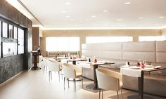 Most Luxurious Airport Lounges: the spa at Air France's La Premiere lounge