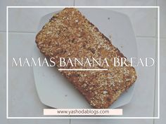 Yummy, moist banana bread! This banana bread recipe is one of favorite recipes that I have been making for years now! Its egg free and can be vegan too, all you have to do is replace the dairy butter with a non-diary butter and viola!  . . . . #yashodablogs #motherhoodoflove #wifemomboss #momboss #samomblogs #momtomom #momswhoblog #motherhoodjourney #mommyblogger #mombloggerofig #momdiaries #toddlermommy #veganbananabread #realmomlife #momtruth #bananabread #instamama #lifewithlittles