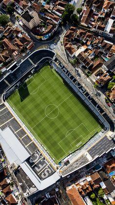 Vila Belmiro templo do futebol