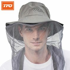 8aead45665364 TFO Outdoor Cap Hats Men hiking Sport Sunshade Breathable sunscreen Hat  climbing hunting Fishing Anti mosquito anti UV-in Hiking Caps from Sports  ...