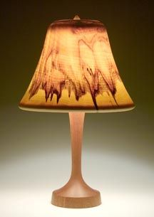 Table Lamp   with wood shade  prices range from 900 to 1500 dollars