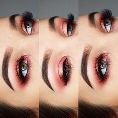 "Polubienia: 178, komentarze: 5 – Aleksandra  (@_beauty_by_aleksandra) na Instagramie: "" Oczy: @anastasiabeverlyhills modern reinassance - buon fresco, love letter, venetian red,…"""