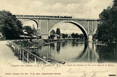 Image Nogent Sur Marne, Brooklyn Bridge, Travel, Image, Lugares, Bridge, Antique Post Cards, Viajes, Traveling