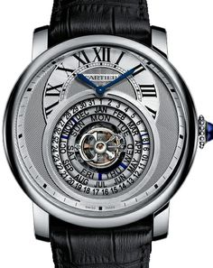 OKay it's a lot to read at the same place, but hey it does the job pretty well!  Cartier Rotonde de Cartier Astrocalendaire
