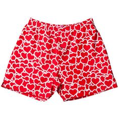 Your heart just might be too fragile for the colors these glow-in boxers bring at night ;)