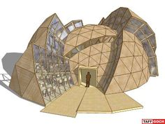 """Geodesic Dome • """"Deconstructed"""" by TaffGoch - 3D Warehouse"""