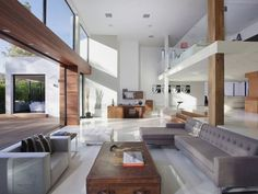 interior of Typically Luxurious Residence of Beverly Hills